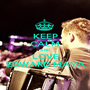 KEEP CALM AND LOVE EDWARD MAYA - Personalised Poster A1 size