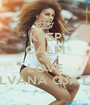 KEEP CALM AND LOVE ELVANA GJATA - Personalised Poster A1 size