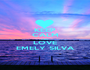 KEEP CALM AND LOVE EMELY SILVA - Personalised Poster A1 size
