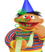 KEEP CALM AND LOVE ERNIE - Personalised Poster A1 size