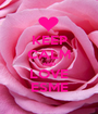 KEEP CALM AND LOVE ESME - Personalised Poster A1 size