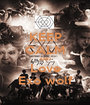 KEEP CALM AND Love Exo wolf - Personalised Poster A1 size