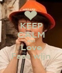 KEEP CALM AND Love Faas wijn - Personalised Poster A1 size