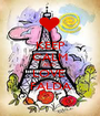 KEEP CALM AND  LOVE  FALDA - Personalised Poster A1 size