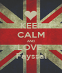 KEEP CALM AND LOVE  Fayssal - Personalised Poster A1 size