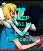 KEEP CALM AND Love Finnceline - Personalised Poster A1 size