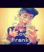 KEEP CALM AND Love Franky - Personalised Poster A1 size