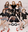 KEEP CALM AND Love ~GG~ - Personalised Poster A1 size