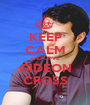 KEEP CALM AND LOVE GIDEON CROSS - Personalised Poster A1 size