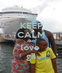 KEEP CALM AND love  gil - Personalised Poster A1 size
