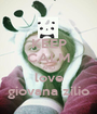KEEP CALM AND love giovana zilio - Personalised Poster A1 size