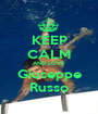 KEEP CALM AND LOVE Giuseppe Russo - Personalised Poster A1 size