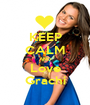 KEEP CALM AND Love Grachi - Personalised Poster A1 size
