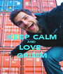 KEEP CALM AND LOVE  GRIMM - Personalised Poster A1 size
