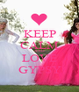 KEEP CALM AND LOVE GYPSY - Personalised Poster A1 size