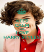 KEEP CALM AND LOVE HARRY STYLES! - Personalised Poster A1 size