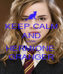 KEEP CALM AND LOVE HERMIONE  GRANGER - Personalised Poster A1 size