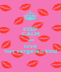 KEEP CALM and love het vergeten kind - Personalised Poster A1 size