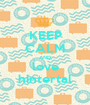 KEEP CALM AND love hintertal - Personalised Poster A1 size