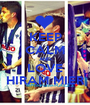 KEEP CALM AND LOVE HIRAM MIER - Personalised Poster A1 size