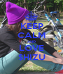 KEEP CALM AND LOVE $HIZU - Personalised Poster A1 size