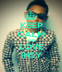 KEEP CALM AND LOVE IHSY - Personalised Poster A1 size