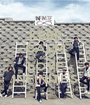 KEEP CALM AND LOVE INFINITE'S - Personalised Poster A1 size