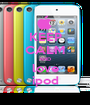 KEEP CALM AND love ipod - Personalised Poster A1 size