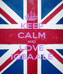 KEEP CALM AND LOVE IQBAALE - Personalised Poster A1 size