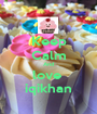Keep Calm And love  iqikhan - Personalised Poster A1 size