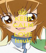 KEEP CALM AND LOVE Itsuki - Personalised Poster A1 size