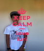KEEP CALM AND love iuri - Personalised Poster A1 size
