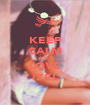 KEEP CALM AND LOVE IZEL - Personalised Poster A1 size
