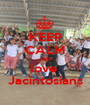 KEEP CALM AND love  Jacintosians - Personalised Poster A1 size
