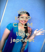 KEEP CALM AND love japneet - Personalised Poster A1 size