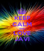 KEEP CALM AND LOVE JAVI - Personalised Poster A1 size