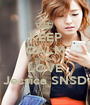 KEEP CALM AND LOVE Jessica SNSD - Personalised Poster A1 size
