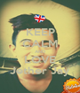 KEEP CALM AND LOVE Jether Jay - Personalised Poster A1 size
