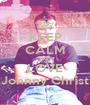 KEEP CALM AND LOVE Johnny Christ - Personalised Poster A1 size