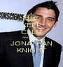 KEEP CALM AND LOVE JONATHAN KNIGHT - Personalised Poster A1 size