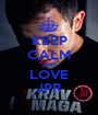 KEEP CALM AND LOVE JPR - Personalised Poster A1 size