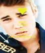 KEEP CALM AND LOVE JUSTIN BIEBER<3   - Personalised Poster A1 size