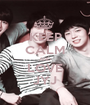 KEEP CALM AND LOVE JYJ - Personalised Poster A1 size