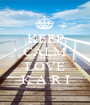 KEEP CALM AND LOVE K.A.R.I - Personalised Poster A1 size