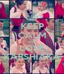 KEEP CALM AND LOVE KARSHIAKA - Personalised Poster A1 size