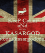 KeeP CaLm aNd LOVE KASARGOD www.fb.com/kasargodconfessions - Personalised Poster A1 size