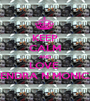 KEEP CALM AND LOVE  KENDRA N MONICA - Personalised Poster A1 size