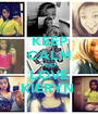 KEEP CALM AND LOVE KIERYN  - Personalised Poster A1 size