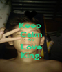 Keep  Calm And Love King. - Personalised Poster A1 size