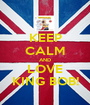 KEEP CALM AND LOVE KING BOB! - Personalised Poster A1 size